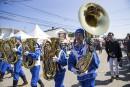 Ces joueurs de tubas faisaient partie de la fête à... | 10 septembre 2017