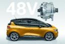Le VUS urbain Renault Scenic à hybridation légère 48 V.... | 11 septembre 2017