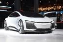 Une voiture autonome Audi Aicon montrée en avant-première du Salon... | 11 septembre 2017