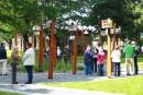 La métamorphose du parc Pelletier, à Granby, a été célébrée... | 11 septembre 2017