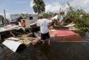 Les dégâts d'Irma