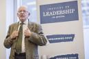 Bernard Landry est l'un des intervenants de renom de l'Institut... | 12 septembre 2017
