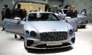 La nouvelle Bentley Continental GT est exposée au Salon de... | 13 septembre 2017