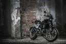 La Ducati Café Racer, mince, légère et plutôt basse, peut... | 13 septembre 2017