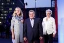 Julie Lemieux, Régis Labeaume et Agnès Maltais ont foulé le... | 13 septembre 2017