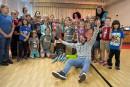 Distribuer du bonheur avec le clown humanitaire Guillaume Vermette