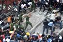 Mexique: les secouristes à la recherche des souffles de vie