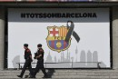Référendum en Catalogne: le Barça condamne l'entrave au «droit à décider»