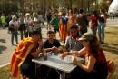 Référendum: le gouvernement catalan persiste malgré les difficultés