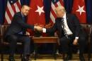 Trump donne une «bonne note» à son «ami» Erdogan