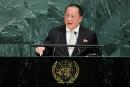 La Corée du Nord dénonce à l'ONU un Trump «mégalomane»