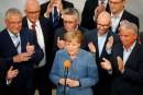 Allemagne: l'extrême-droite gâche la victoire de Merkel