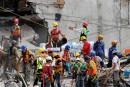 Séisme au Mexique: derniers efforts pour retrouver des survivants