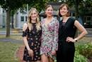 Les soeurs Dufour-Lapointe veulent amasser 700000$ pourSainte-Justine