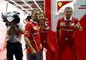 Sebastian Vettel après sa catastrophique course en Malaisie.... | 28 septembre 2017