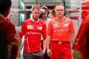 C'était la consternation chez Ferrari après le double abandon de... | 28 septembre 2017