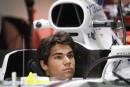 Lance Stroll dans sa Williams FW40, se préparant à la... | 29 septembre 2017