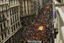 Référendum catalan: des milliers de manifestants dans les rues d'Espagne