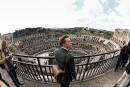 Voir le Colisée d'encore un peu plus haut...