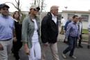 Porto Rico: entre photos et poignées de mains, Trump tente de redorer son image