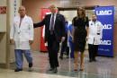 Trump rencontre des victimes de la fusillade de Las Vegas