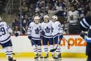 Marleau et les Maple Leafs écrasent les Jets 7-2