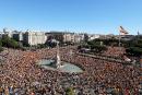 Crise en Catalogne: les Espagnols manifestent