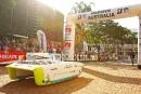Départ d'une course automobile solaire de 3000 km à travers l'Australie