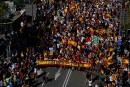 Barcelone: des centaines de milliers de manifestants contre l'indépendance