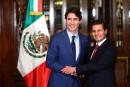 Accueil chaleureux pour Trudeau à Mexico, dans un moment critique
