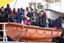 Méditerranée: 600 nouveaux migrants arrivés à Palerme