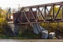 La cause du déraillement de train entre Terrebonne et Laval inconnue