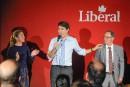 Trudeau discute de neutralité religieuse au Lac-Saint-Jean