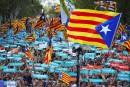 Catalogne : 450 000 manifestants à Barcelone pour réclamer l'indépendance