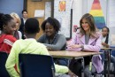 «Choisissons la gentillesse», dit Melania Trump à des élèves