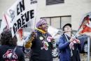 Grève dans les CPE: les éducatrices manifestent