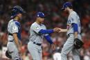 Les releveurs des Astros et des Dodgers se font malmener