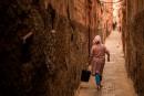 Les touristes affluent dans le vieux quartier juif de Marrakech