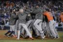 Les Astros remportent la Série mondiale