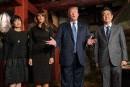 Après la diplomatie du golf, Trump parle Corée du Nord au Japon