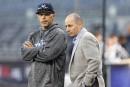Yankees: Cashman ne voyait plus Girardi à la tête de sa jeune équipe