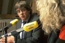 Puigdemont interpelle l'UE sur son soutien au «coup d'État»