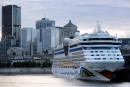 Port de Montréal: les croisiéristes ont débarqué en nombre record