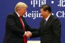 Déficit commercial États-Unis-Chine: Trump dit sa «déception» à Xi Jinping