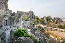 Les Baux-de-Provence: château, calcaire et lumière