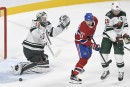Wild 3 - Canadien 0 (pointage final)