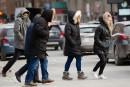 Froid mordant et bordées de neige au Québec vendredi