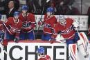 Les visages des joueurs du Canadien exposent leur déception à... | 9 novembre 2017
