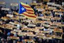 Catalogne: manifestation pour la liberté des dirigeants indépendantistes