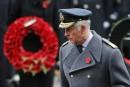 Le Prince Charles remplace la reine pour les commémorations du Jour du Souvenir